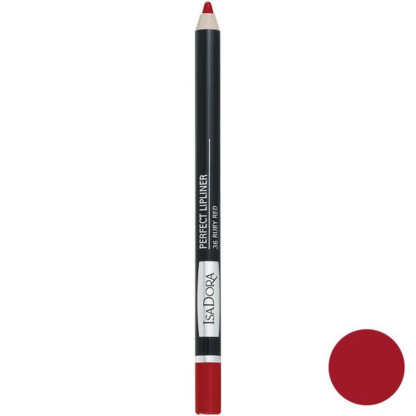 مداد لب ایزادورا سری Perfect مدل 36 Ruby Red