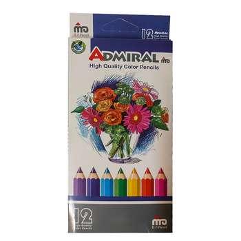 مداد رنگی 12 رنگ ادمیرال کد 19