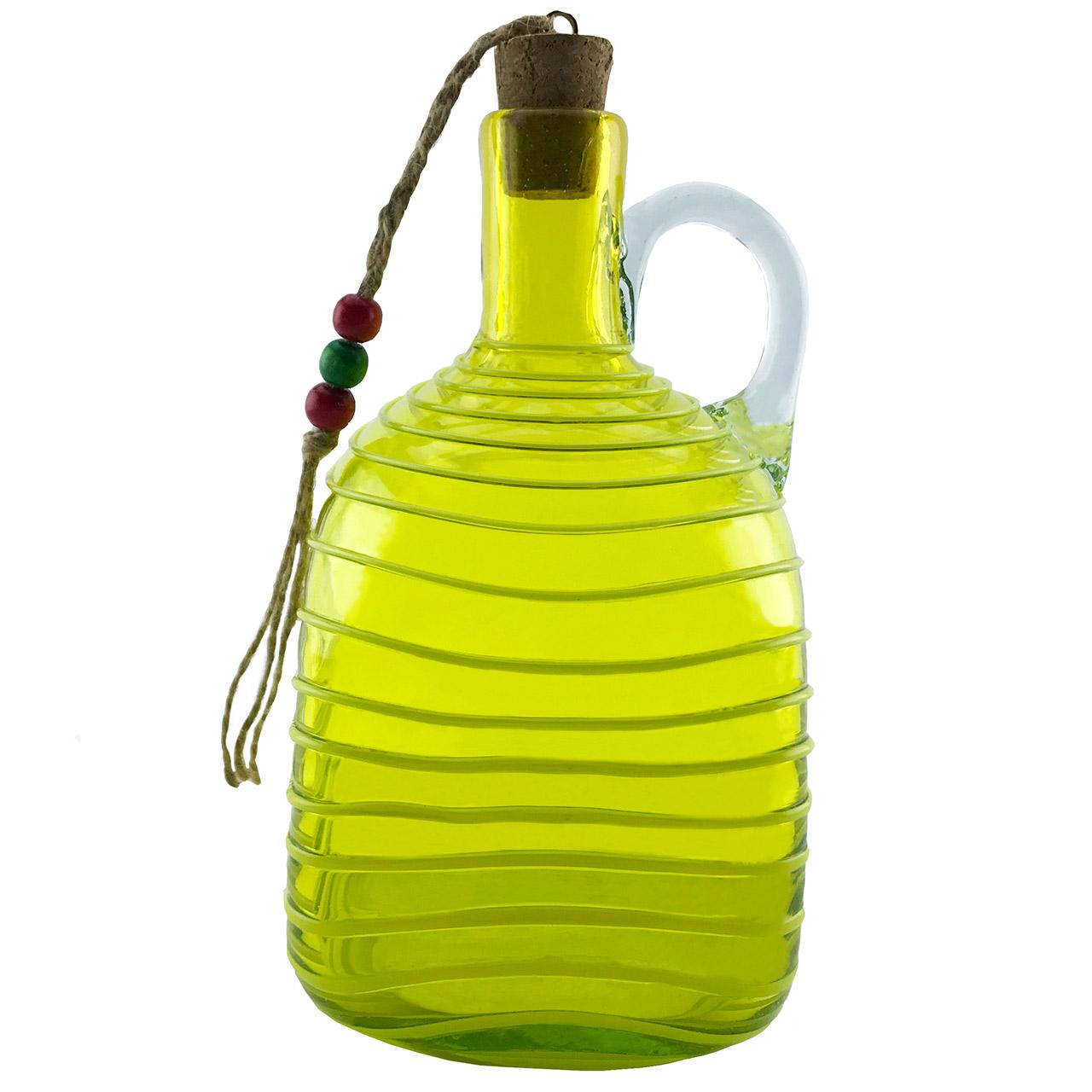 بطری شیشه ای طرح چهارگوش نواری کد 481