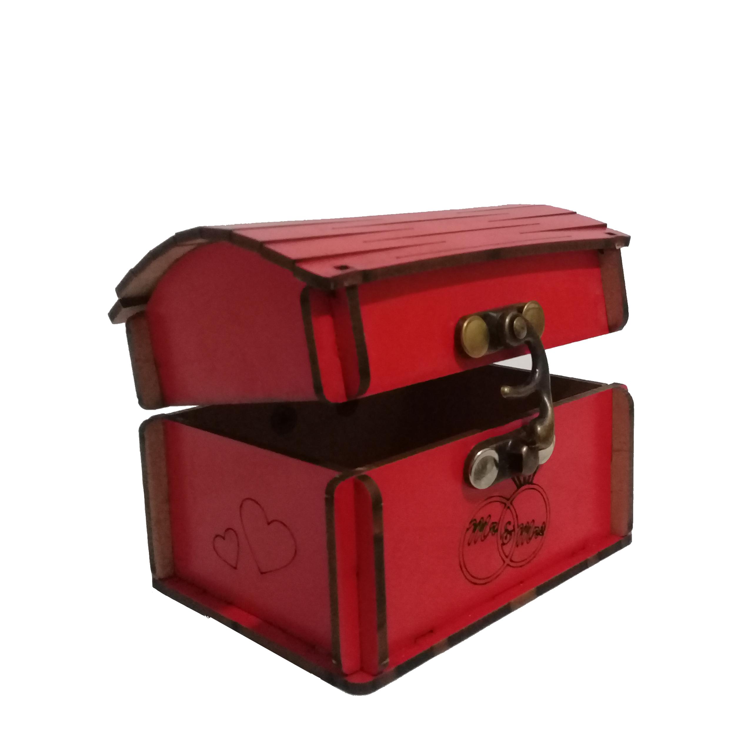 جعبه هدیه طرح صندوق