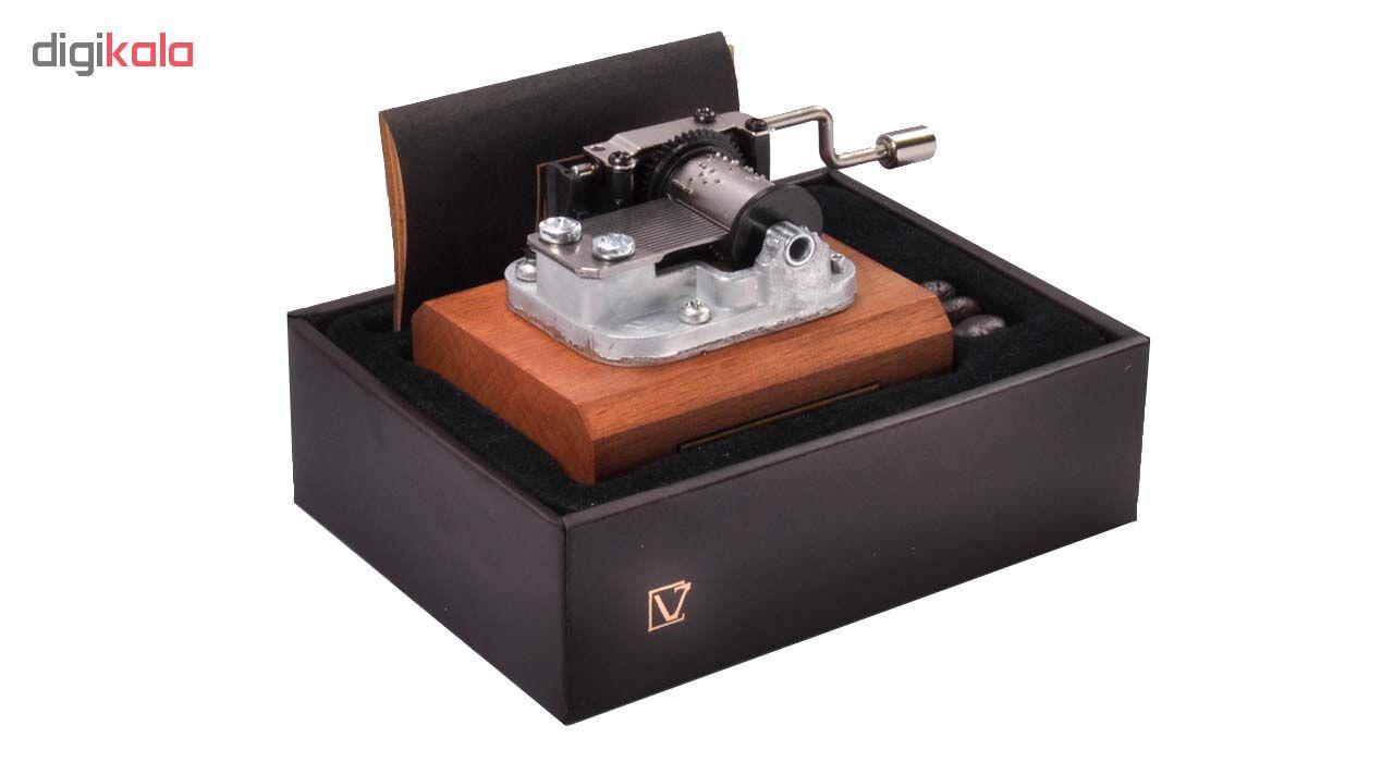 جعبه موزیکال ایل تمپو ولا مدل Classico ملودی دریاچه قو