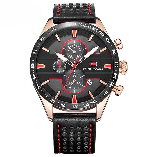 ساعت مچی عقربه ای مردانه مینی فوکوس مدل mf0002g.01