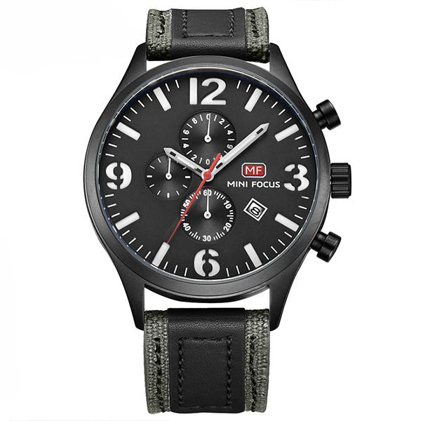 ساعت مچی عقربه ای مردانه مینی فوکوس مدل mf0003g.04