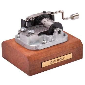 جعبه موزیکال ایل تمپو ولا مدل Classico ملودی لاو استوری   ILTempo Vola Classico Love Story Musical Box