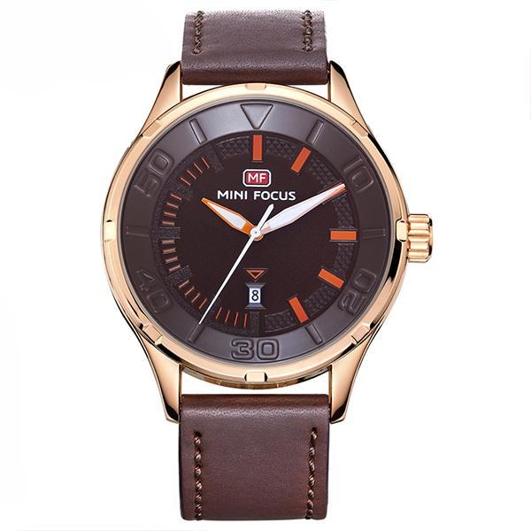 ساعت مچی عقربه ای مردانه مینی فوکوس مدل mf0008g.03