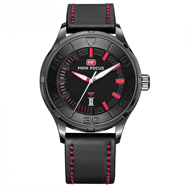 ساعت مچی عقربه ای مردانه مردانه مینی فوکوس مدل mf0008g.01