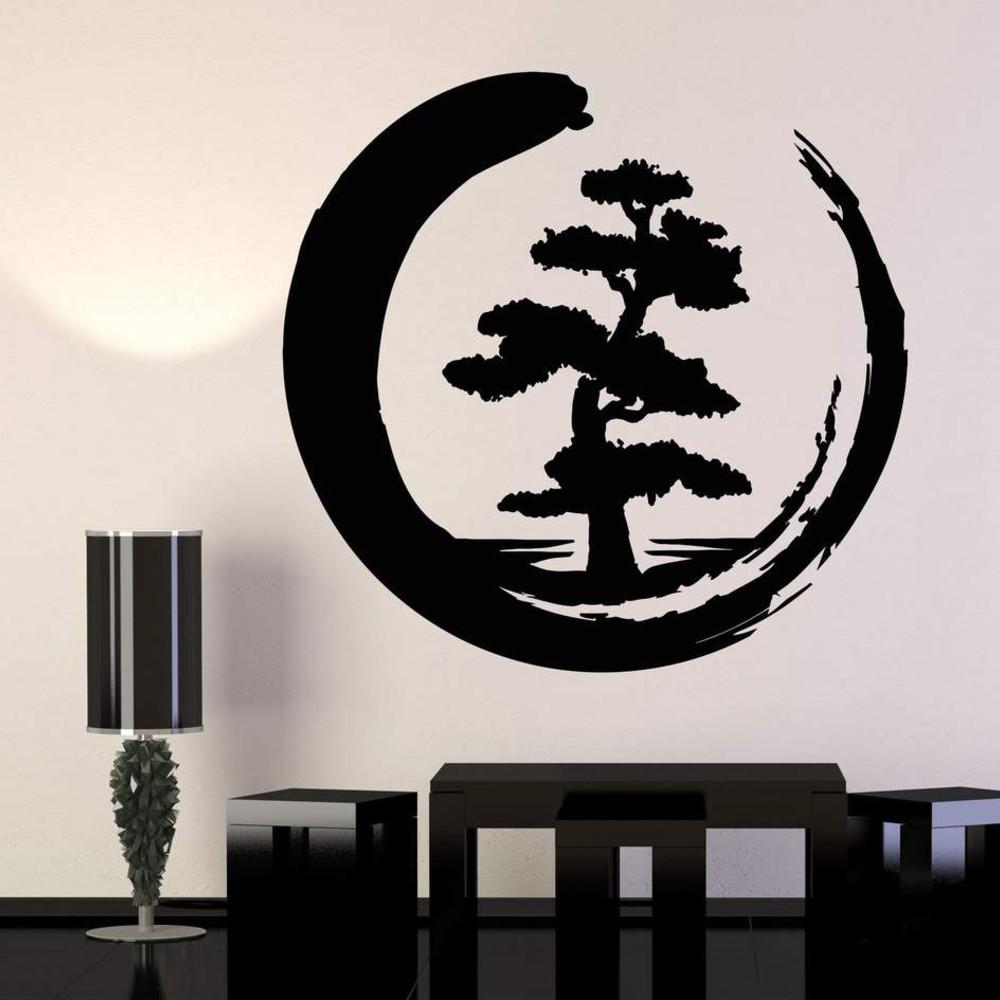 استیکر وی وین آرت طرح درخت ژاپنی کد S52
