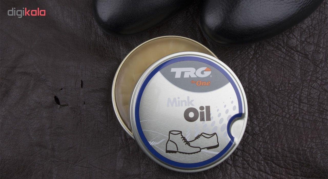 واکس روغن نارگیل برند تی ار جی مدل mink oil