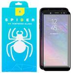 محافظ صفحه نمایش سرامیکی اسپایدر مدل GPS-2000 مناسب برای گوشی موبایل سامسونگ Galaxy A6 2018 بسته دو عددی