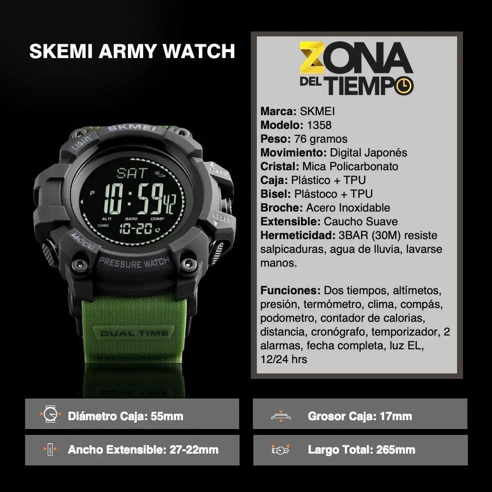 ساعت مچی دیجیتال مردانه اسکمی مدل T1358 -  - 5