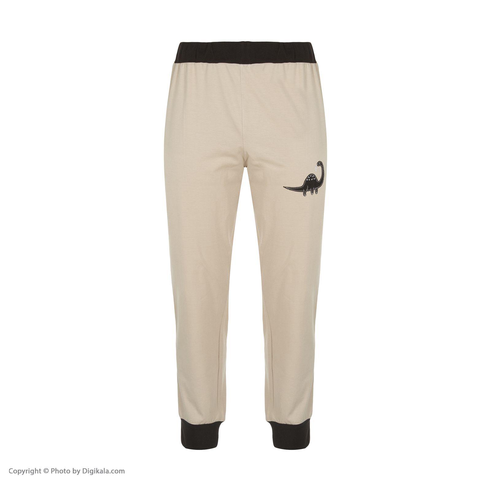 ست تی شرت و شلوارک راحتی مردانه مادر مدل 2041106-07 -  - 7