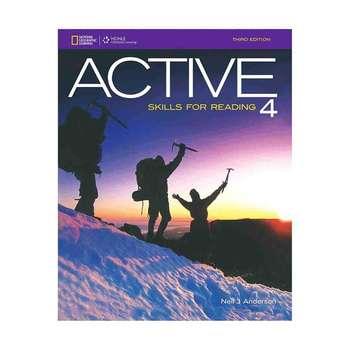 کتاب ACTIVE SKILLS FOR READING 4 اثر Neil J. Anderson انتشارات Heinle