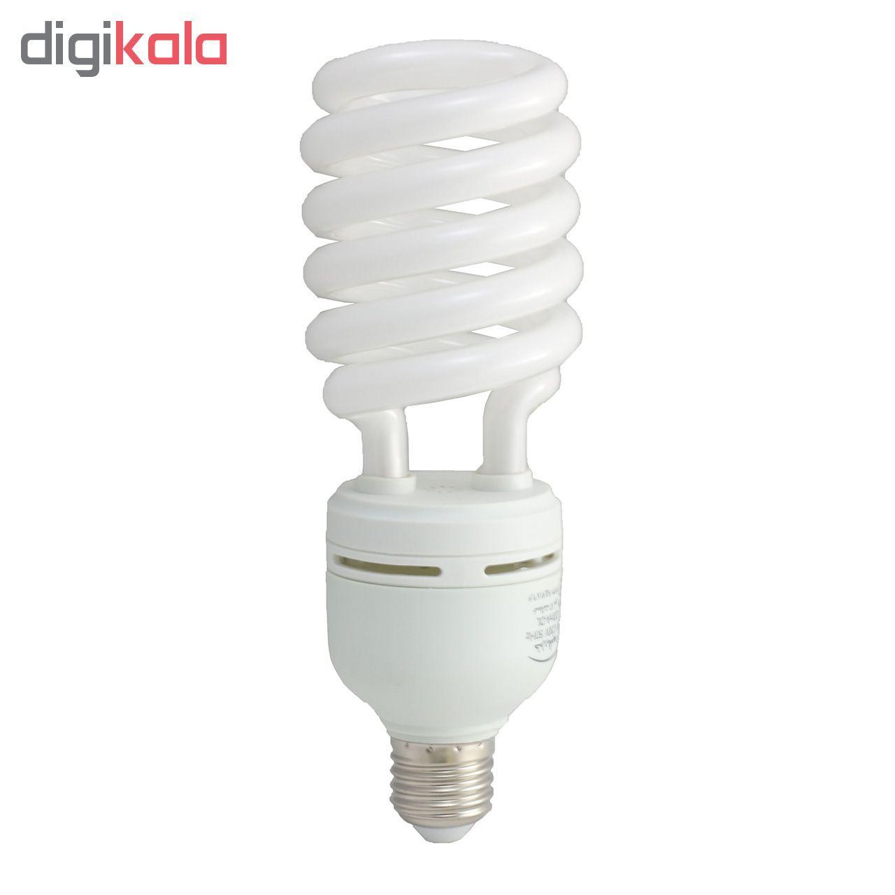 لامپ کم مصرف 25 وات خزرشید مدل HS پایه E27 main 1 1