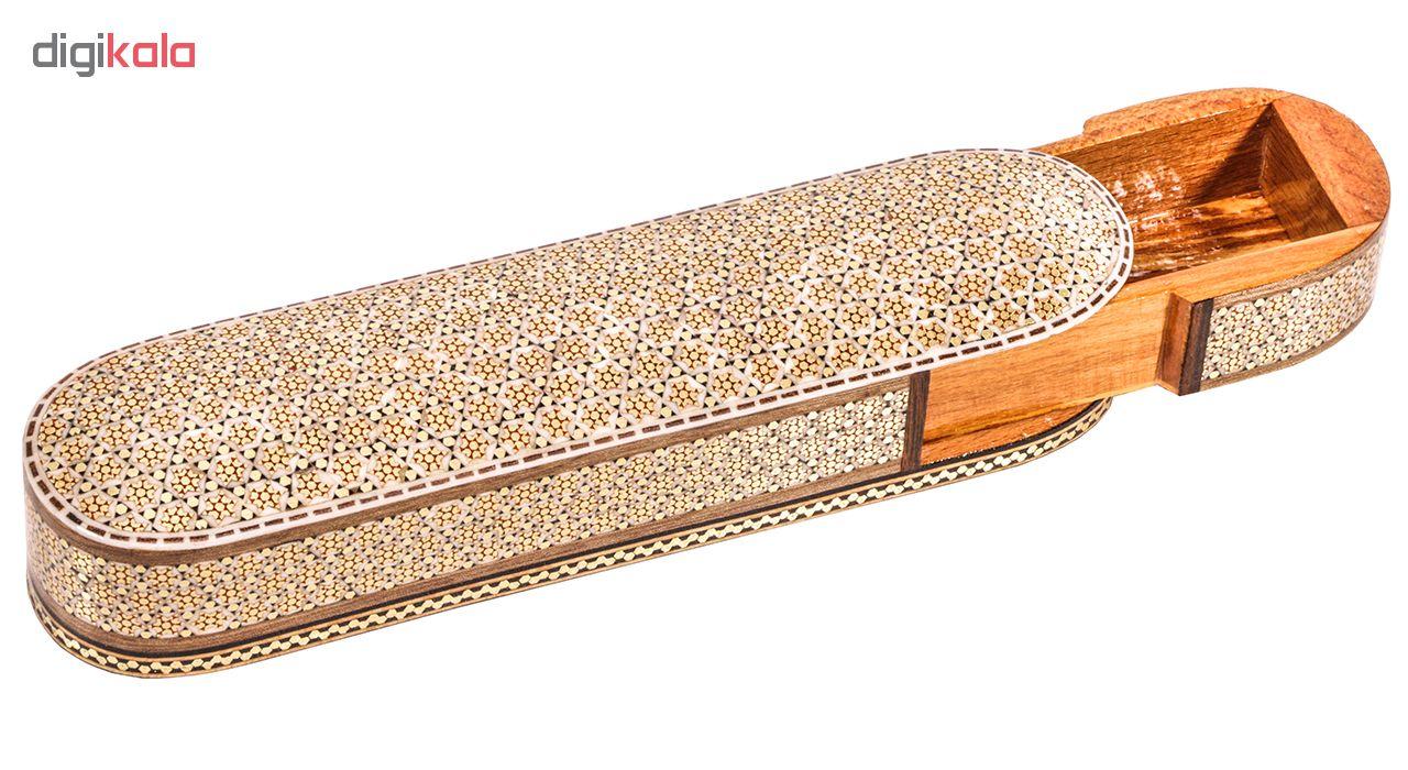 قلمدان خاتم کاری گالری گوهران مدل 198