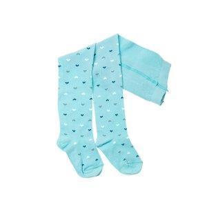 جوراب شلواری بچگانه کنته کیدز طرح قلبی رنگ آبی