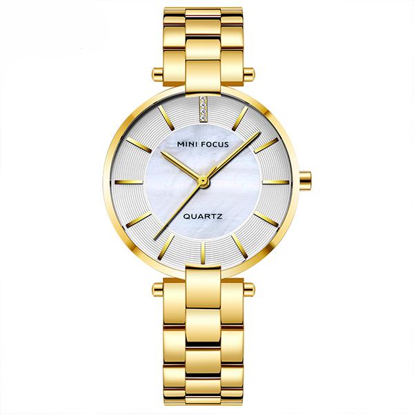 ساعت مچی عقربه ای زنانه مینی فوکوس مدل mf0224l.02