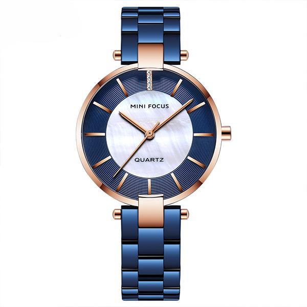 ساعت مچی عقربه ای زنانه مینی فوکوس مدل mf0224l.04