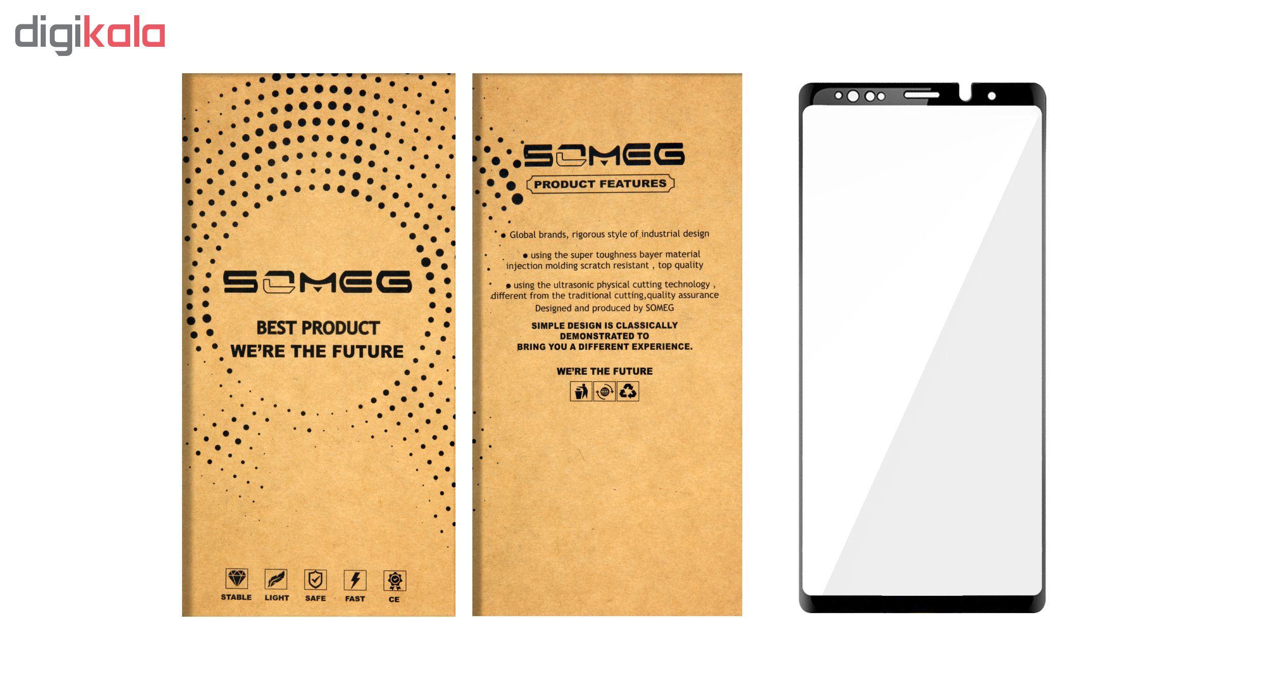 محافظ صفحه نمایش سومگ مدل Nitro مناسب برای گوشی سامسونگ Note 9 main 1 5