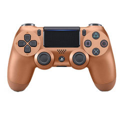 دسته بازی بی سیم سونی مدل Dualshock 4 Copper مناسب برای PS4