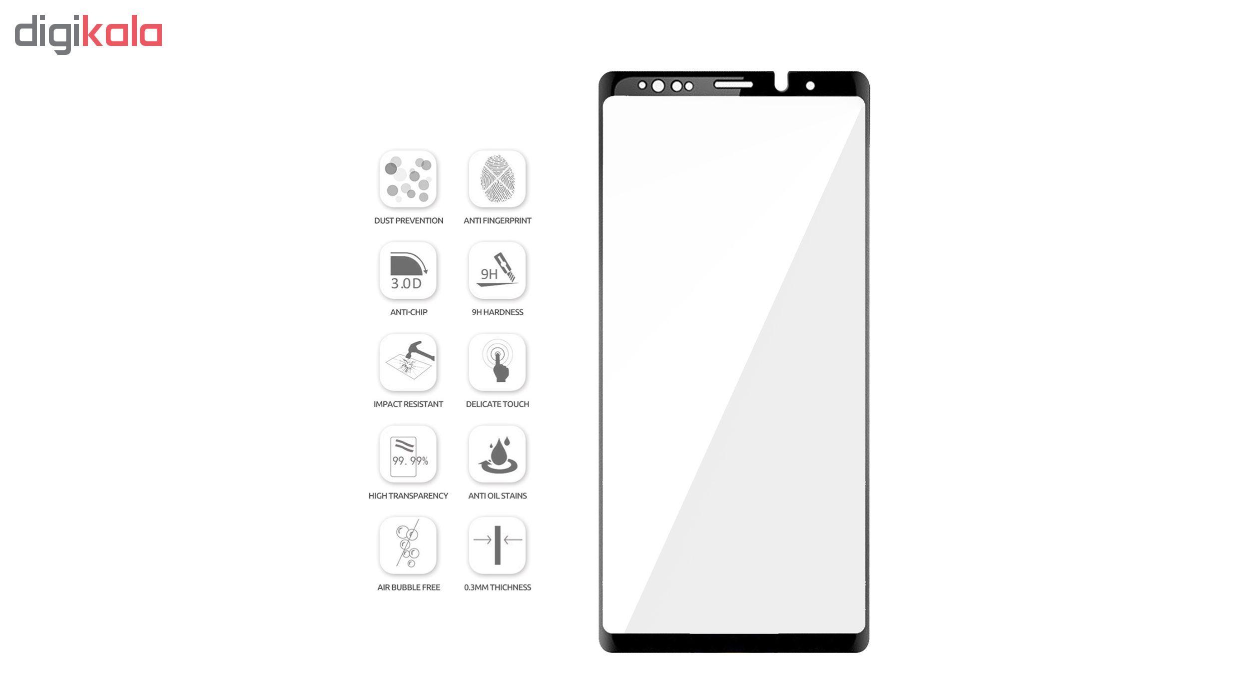 محافظ صفحه نمایش سومگ مدل Nitro مناسب برای گوشی سامسونگ Note 9 main 1 4