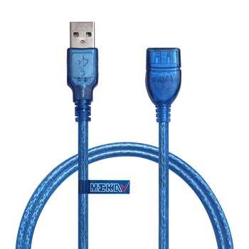 کابل افزایش طول USB 2.0 مکا مدل MUE7 طول 50 سانتیمتر