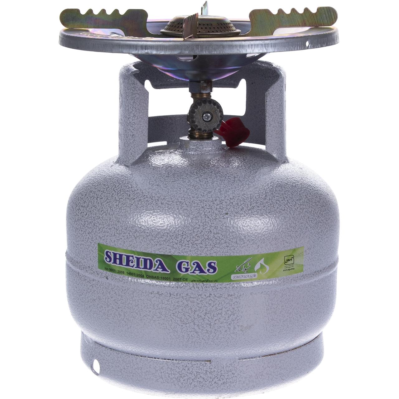 اجاق گاز پيكنيكي شيدا گاز حجم 2.5 كيلوگرم