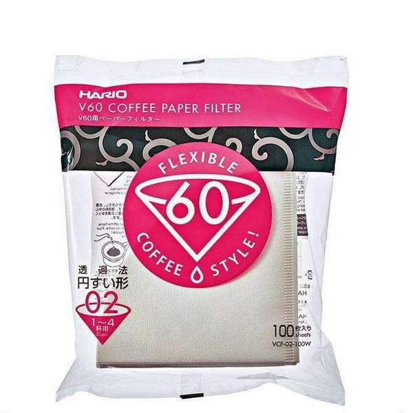 فیلتر قهوه هاریو مدل وی 60 کد 2  100 عددی