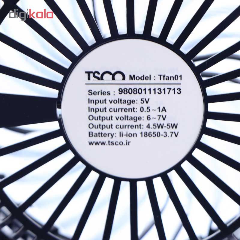 پنکه رومیزی تسکو مدل TFan 01
