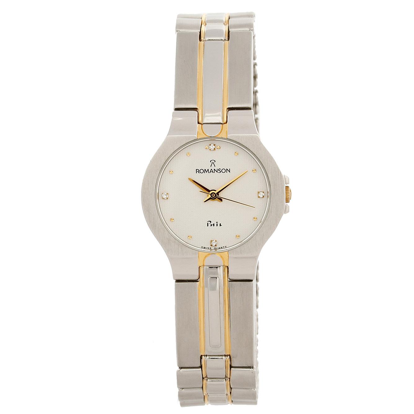 ساعت زنانه برند رومانسون مدل NM0121LL1CAS1G
