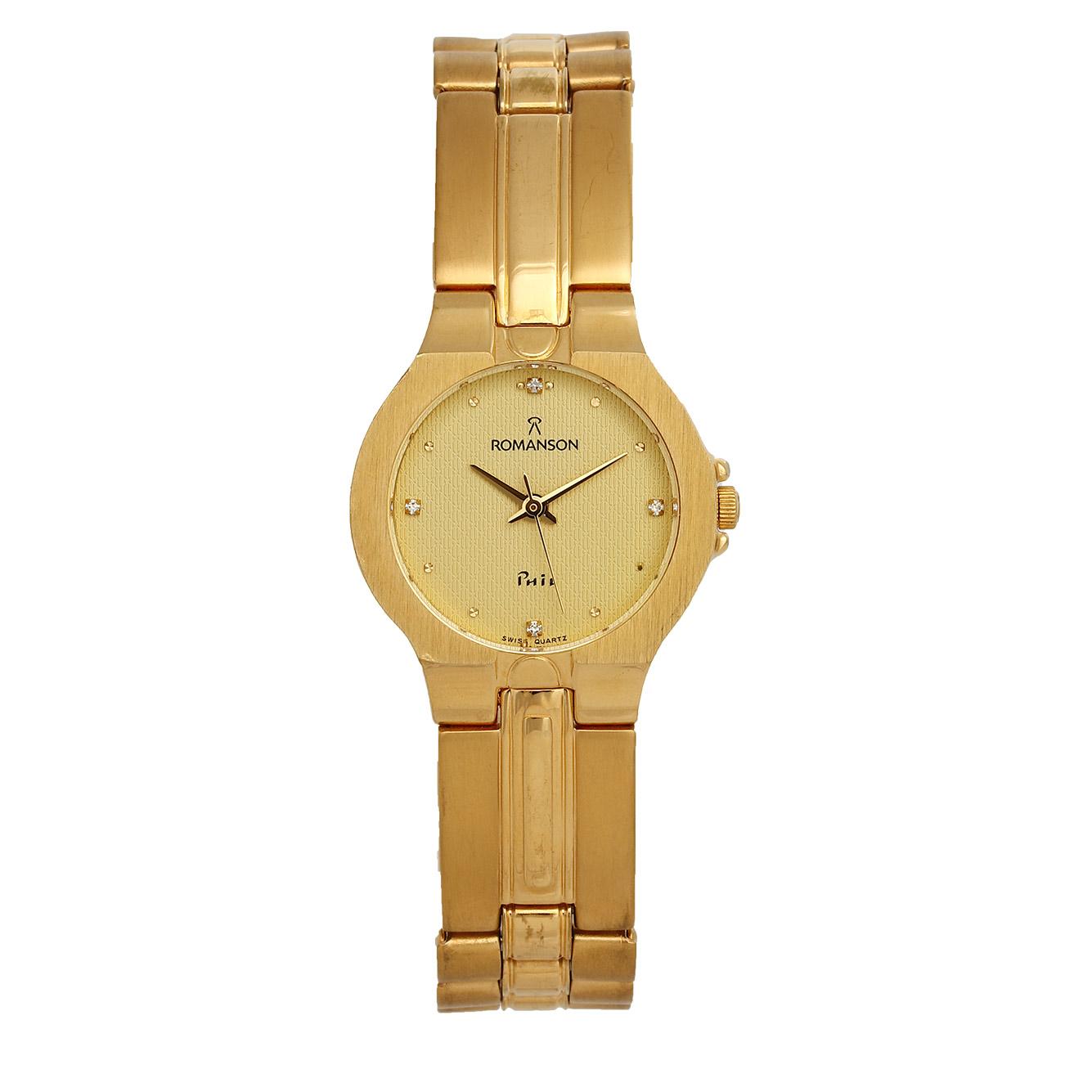 ساعت مچی عقربه ای زنانه رومانسون مدل NM0121LL1GA81G