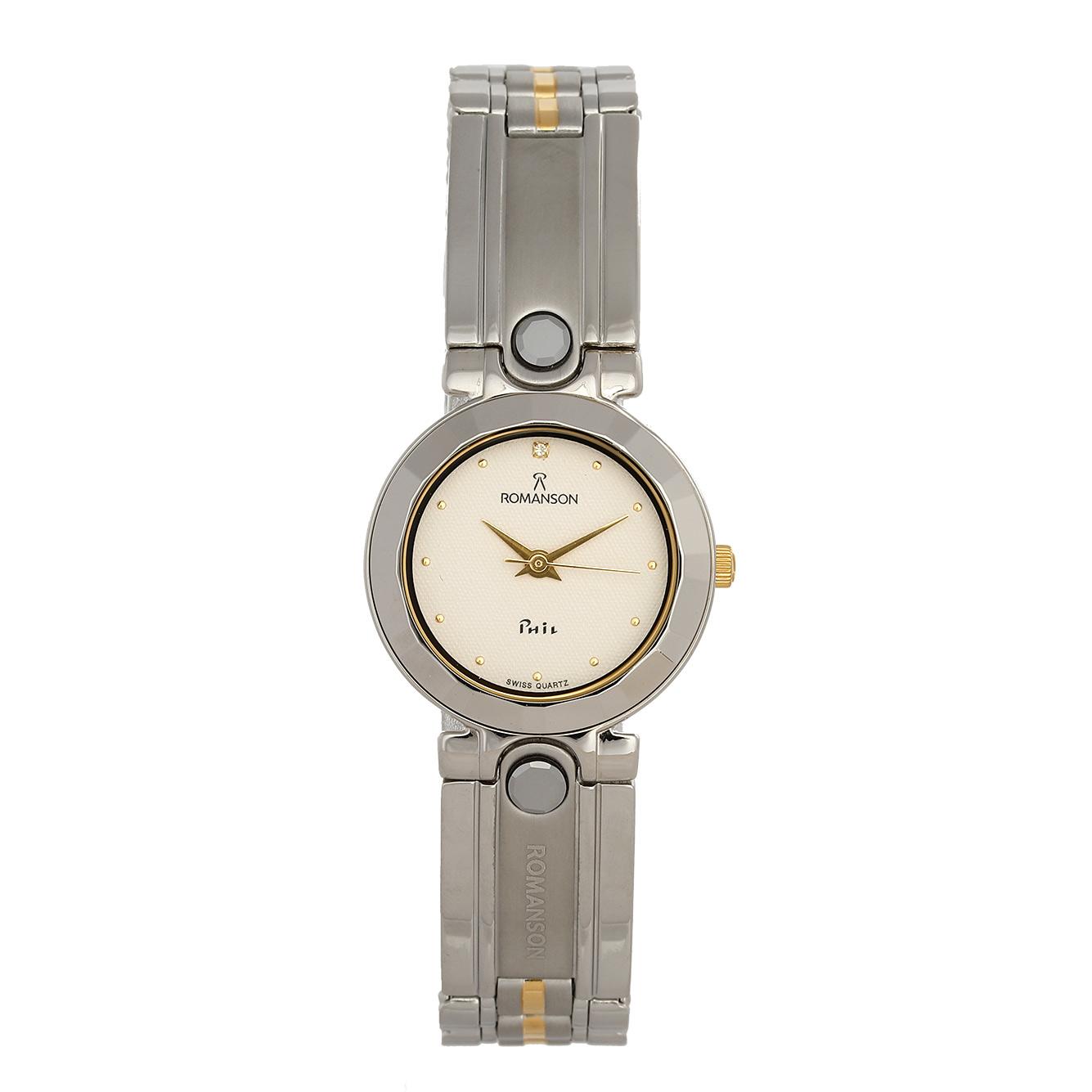 ساعت مچی عقربه ای زنانه رومانسون مدل NM0142LL1CAS1G