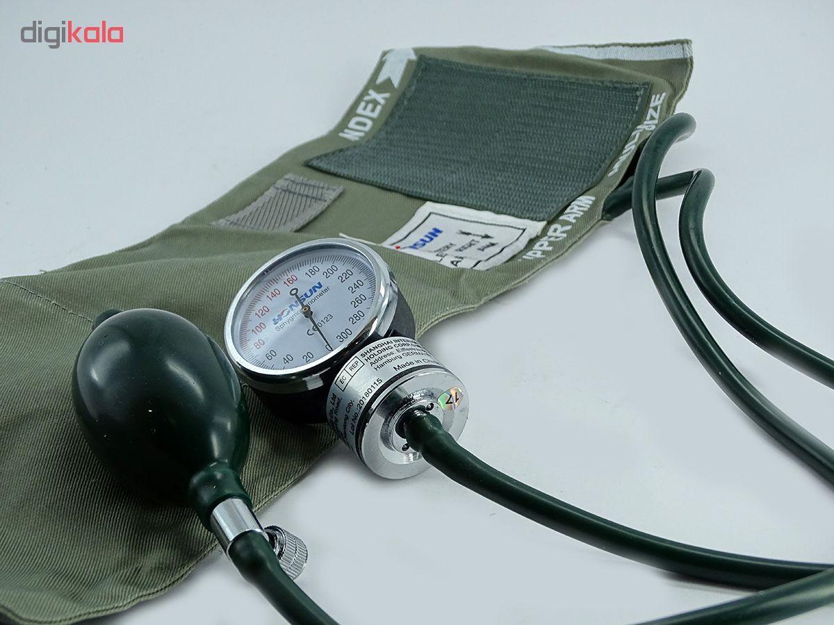 فشارسنج عقربه ای و گوشی پزشکی هانسون مدل وکتو main 1 3