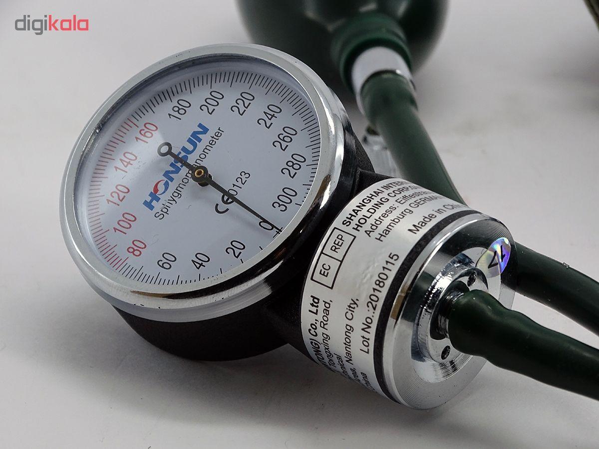 فشارسنج عقربه ای و گوشی پزشکی هانسون مدل وکتو main 1 4