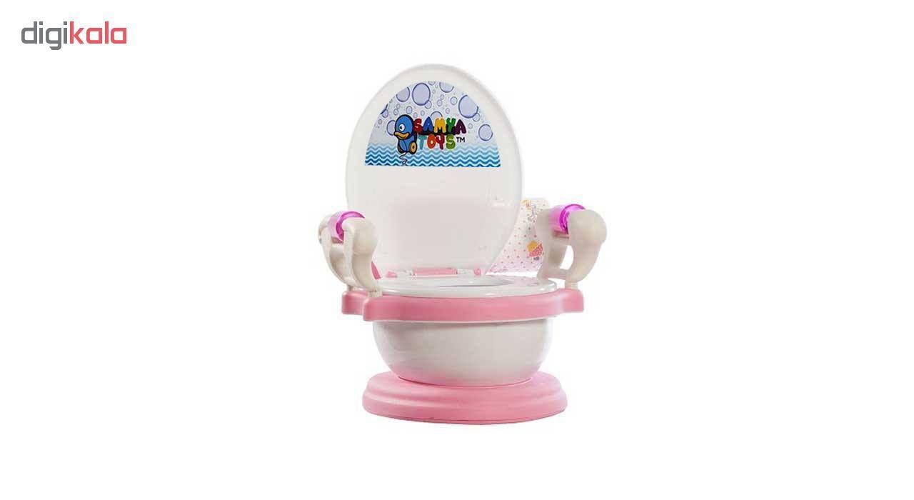 توالت فرنگی کودک سامیا تویز مدل ID16062 main 1 5