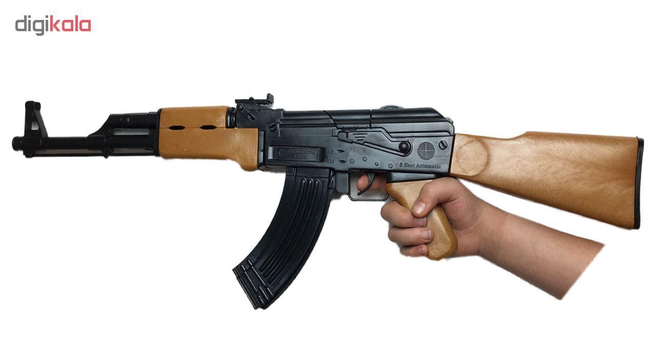 تفنگ اسباب بازی گلدن گان مدل AK-47  main 1 2