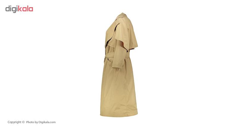 بارانی زنانه سارا حمیدی طرح چهرزاد مدل 1141-3