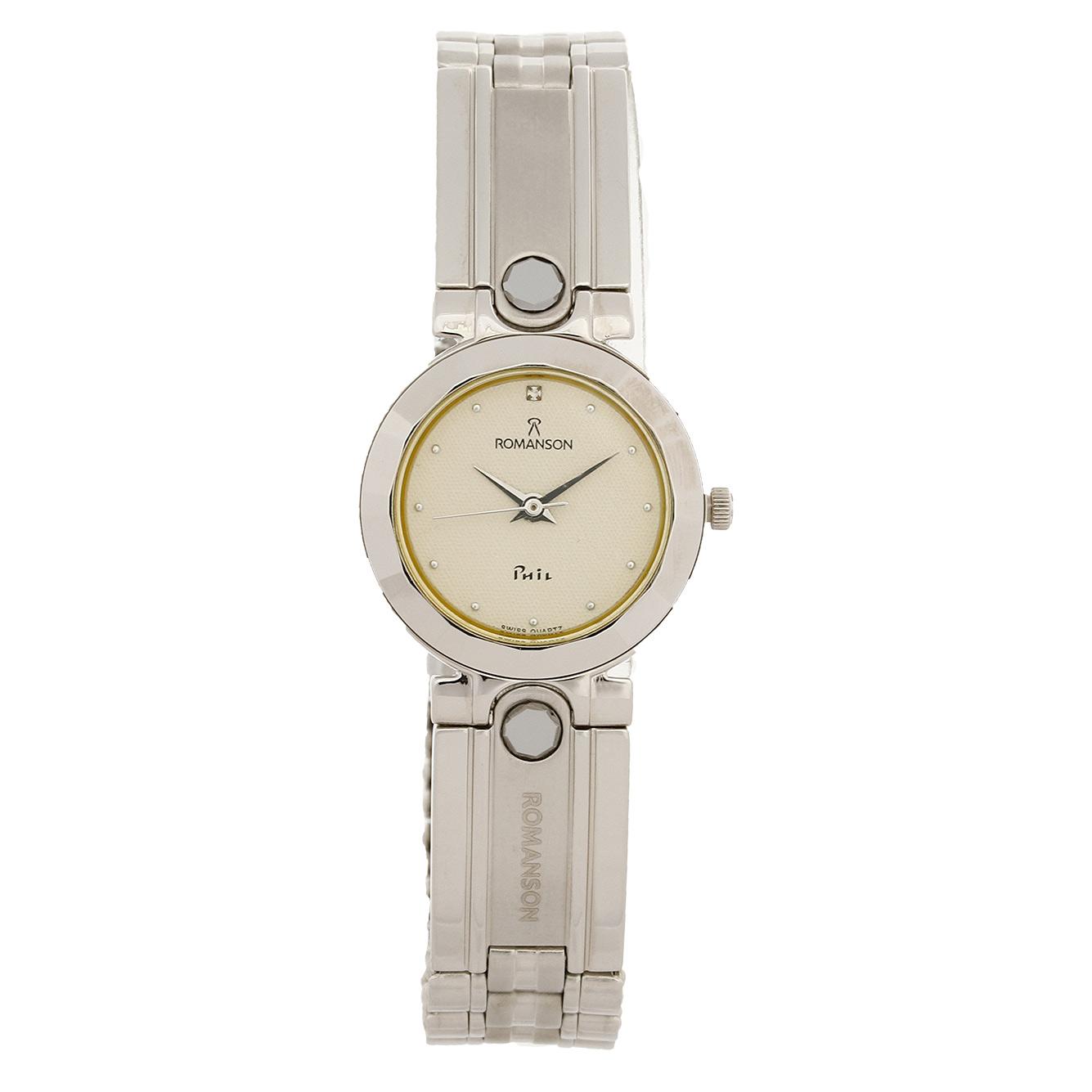ساعت مچی عقربه ای زنانه رومانسون مدل NM0142LL1WAS1W 29
