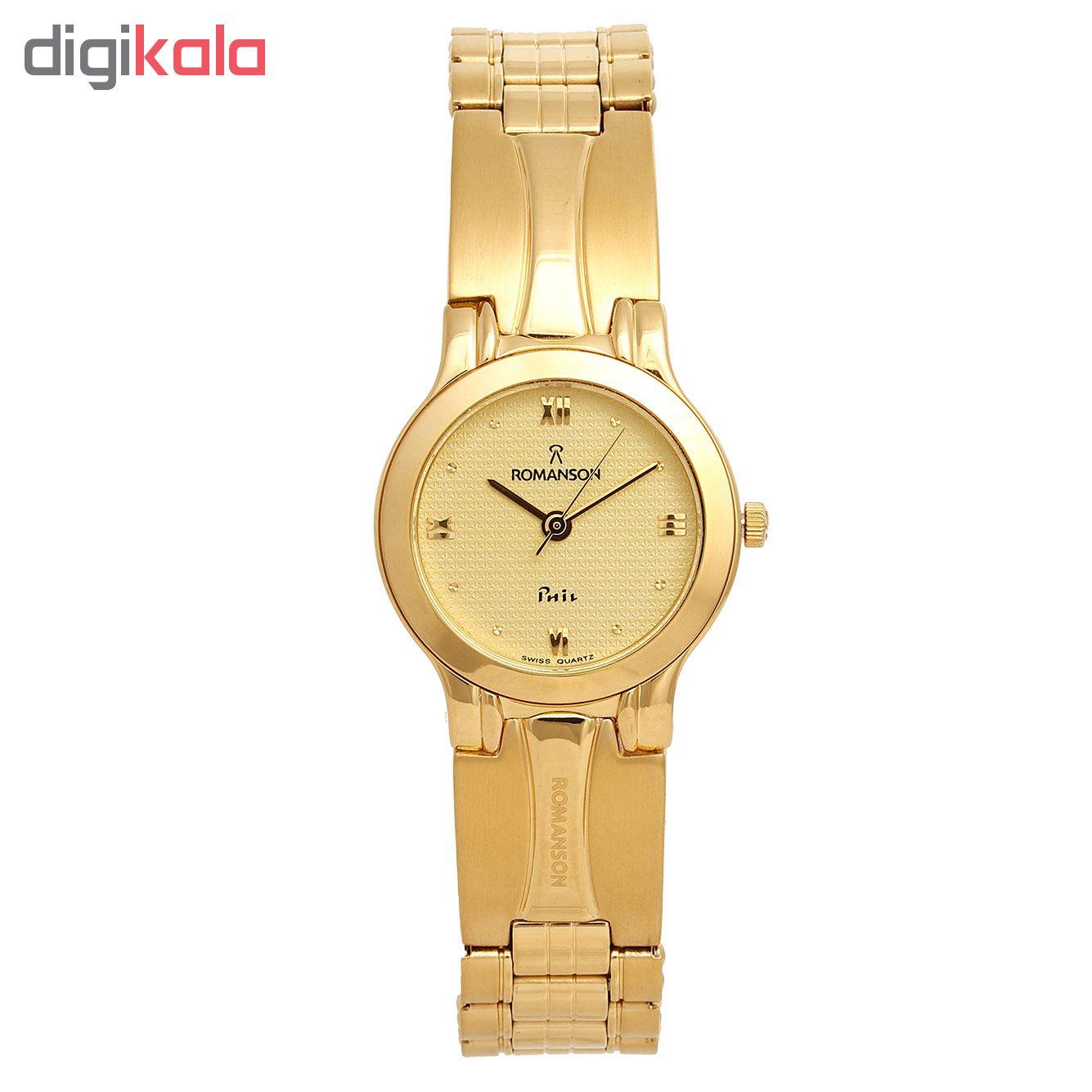 ساعت مچی عقربه ای زنانه رومانسون مدل NM0196LL1GA51G