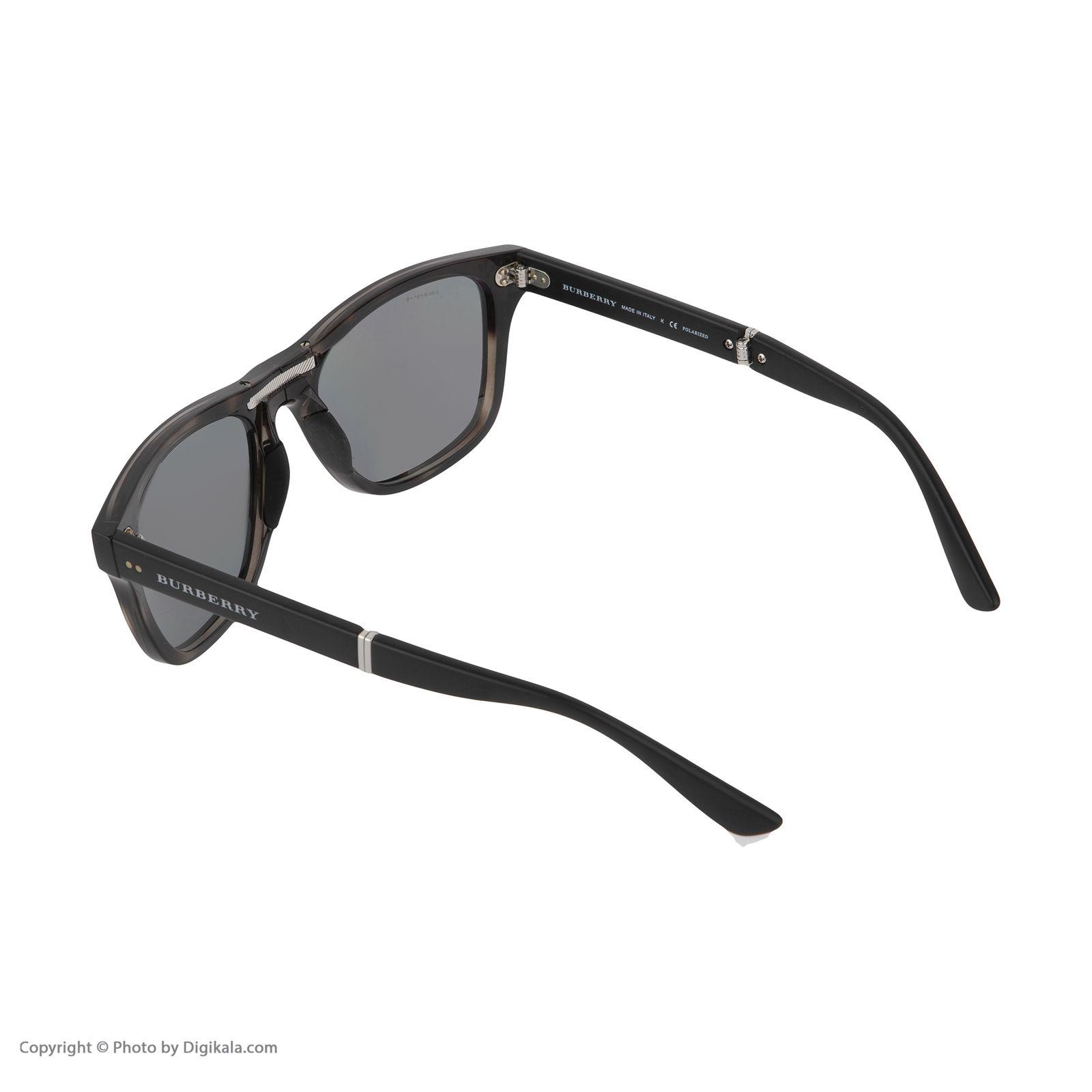 عینک آفتابی مردانه بربری مدل BE 4204S 3541T8 55 -  - 5