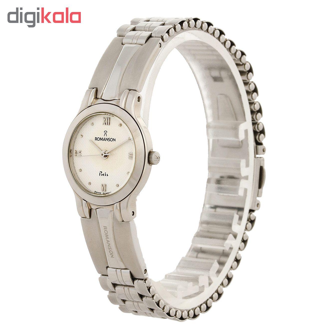 قیمت                      ساعت مچی عقربه ای زنانه رومانسون مدل NM0196LL1WAS1W