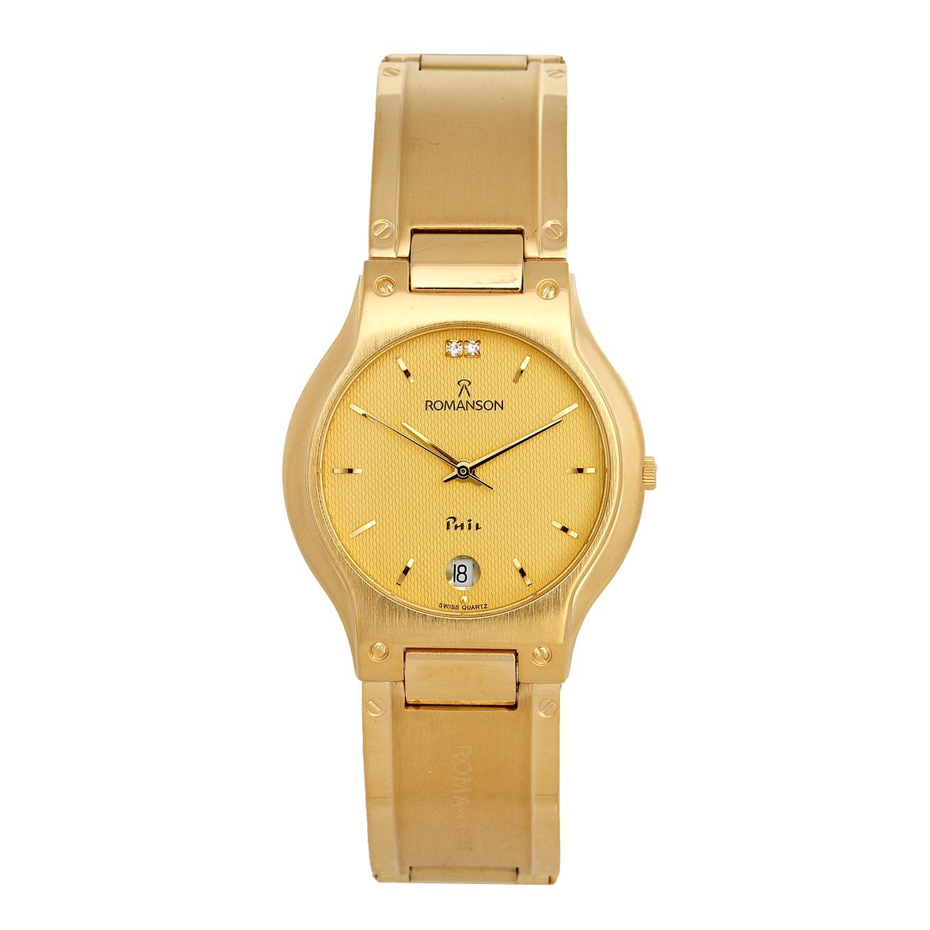 ساعت مچی عقربه ای مردانه رومانسون مدل NM0542MM1GA51G