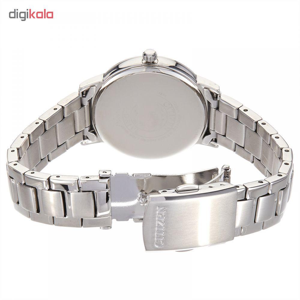 کد تخفیف                                      ساعت مچی عقربه ای زنانه سیتی زن مدل  EO1180-82A