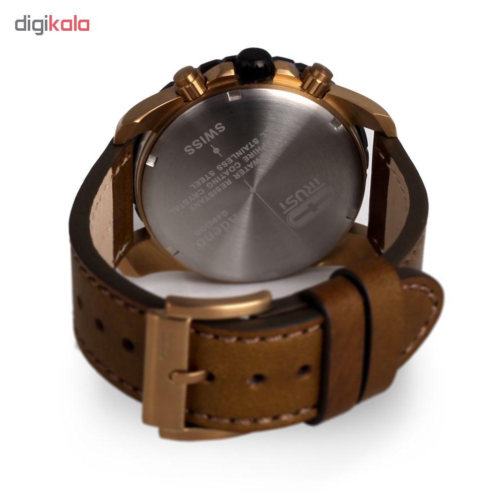 ساعت مچی عقربه ای مردانه تراست مدل G496IQD