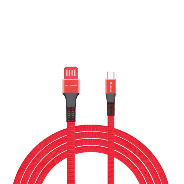 کابل تبدیل USB به USB-C کلومن مدل kd-13 طول 1 متر