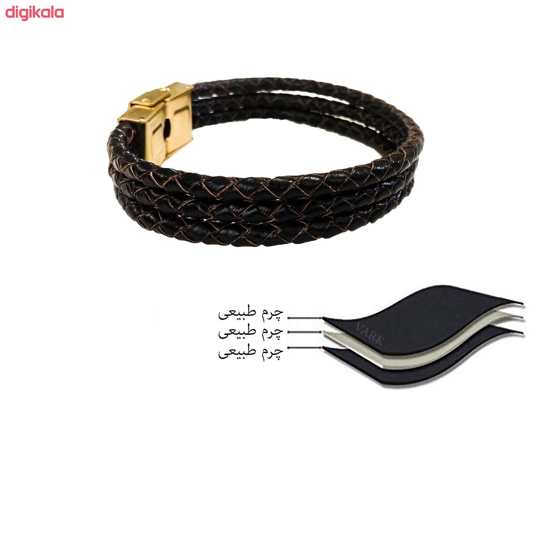 دستبند چرم وارک مدل دایان کد rb323 main 1 7