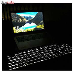 کیبورد بیاند مدل BK-7200 BackLight   Beyond BK-7200 BackLight Keyboard