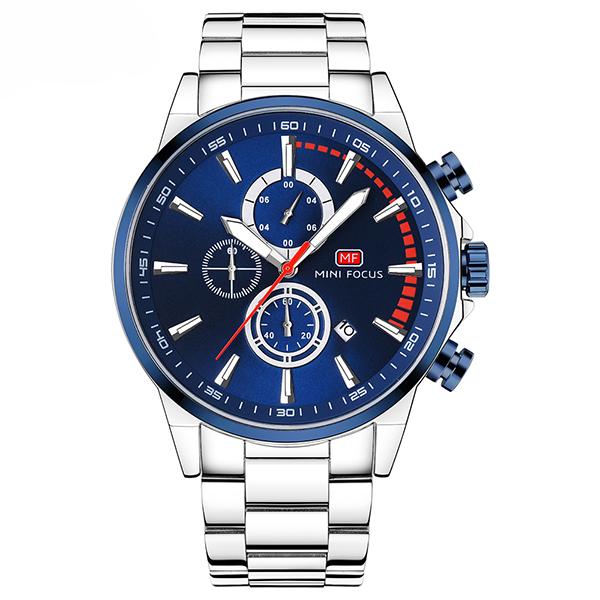 ساعت مچی عقربه ای مردانه مینی فوکوس مدل mf0085g.04