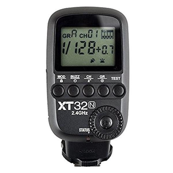رادیو تریگر گودکس مدل XT32-N مناسب برای دوربین های نیکون