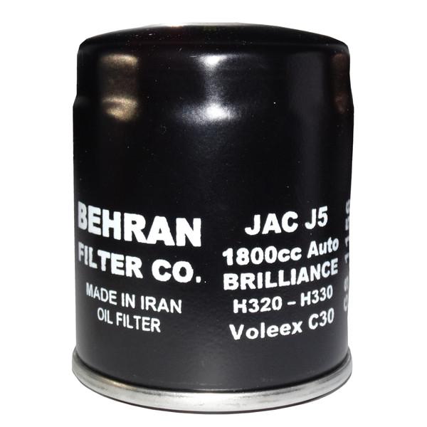 فیلتر روغن خودرو بهران فیلتر مدل GS1156 مناسب برای جک J5