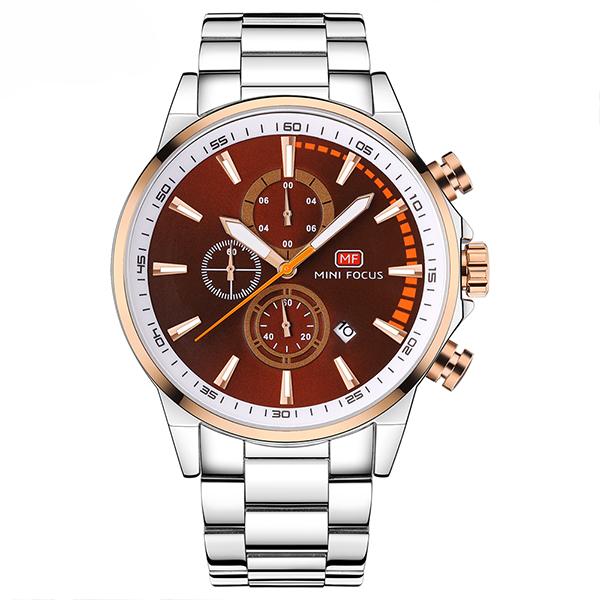 ساعت مچی عقربه ای مردانه مینی فوکوس مدل mf0085g.01